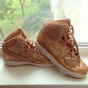 Shoes - Gold Nike